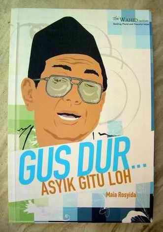 Couverture d'une des multiples biographies de Gus Dur publiées après son décès (www.rahmatmuntaha.wordpress.com/Wahid Institute).
